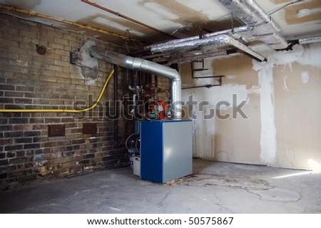 boiler facility background