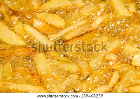 Boiling French Fries