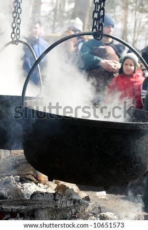 Boiling of Maple Syrup