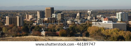 Boise, Idaho skyline - stock photo