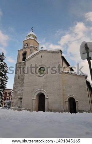 Bojano, Campobasso, Molise. The Cathedral of San Bartolomeo. The Cathedral is dedicated to San Bartolomeo whose origins are very ancient, in fact the first testimonies of the structure date back to 10