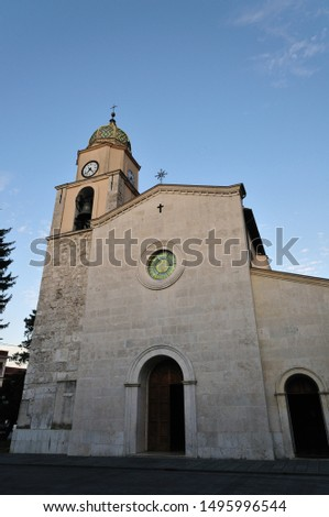 Bojano,Campobasso,Molise. The Cathedral of San Bartolomeo. The Cathedral is dedicated to San Bartolomeo whose origins are very ancient, in fact the first testimonies of the structure date back to 1073
