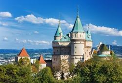Bojnice castle (1103),Slovakia