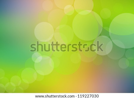 Bokeh abstract and background design concept