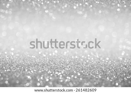 Bokeh Abstract Background Wallpaper Glitter Diamond For Wedding And Christmas Festival Design 261482609