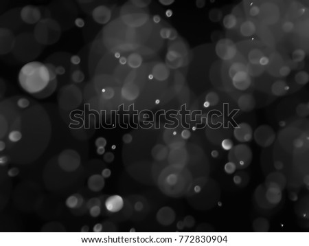 bokeh abstract background with black and white color #772830904