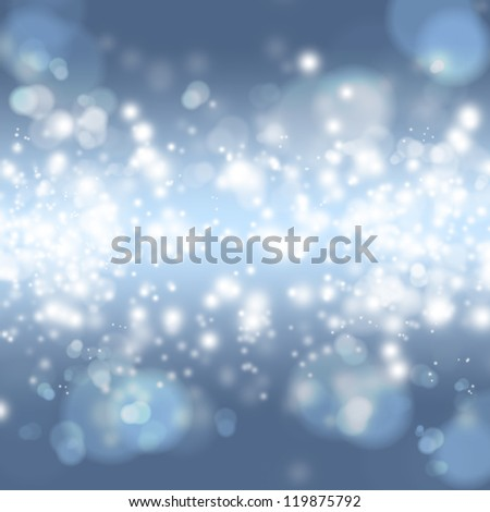Bokeh abstract bright background - stock photo