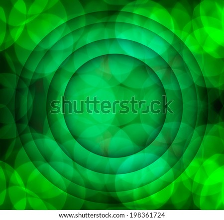 Bokeh  abstract green circle background twin for simply text for art work round,circular,flexible,slick,circle in quadrate four-square