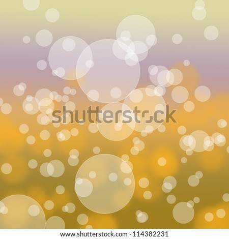 Bokeh abstract light background color.
