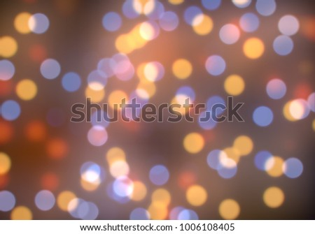 Bokeh abstract texture. Colorful. Defocused background. Blurred bright light. Circular points. #1006108405