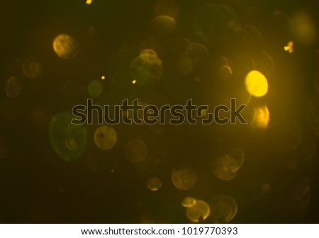 Bokeh abstract texture. Colorful. Defocused background. Blurred bright light. Circular points. #1019770393