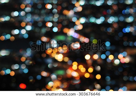 Bokeh background abstract light design night color line bright effect blur wall wallpaper