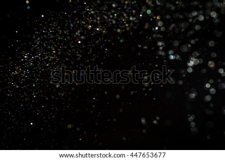 Bokeh background from water and light - Shutterstock ID 447653677