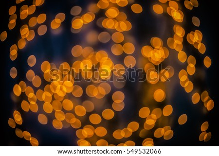 Bokeh background glowing oval shaped glow dark orange empty #549532066