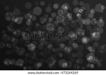 Bokeh black abstract  background - Shutterstock ID 473264269