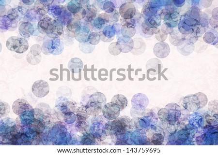 bokeh circles background or texture layered graphic