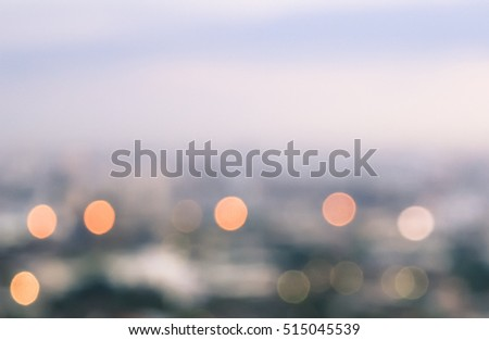 bokeh city at night abstract defocused circular blurred lights background #515045539