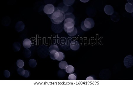 Bokeh dark background dark abstract background.