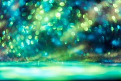 bokeh glitter Colorfull Blurred abstract background for birthday, anniversary, wedding, new year eve or Christmas.