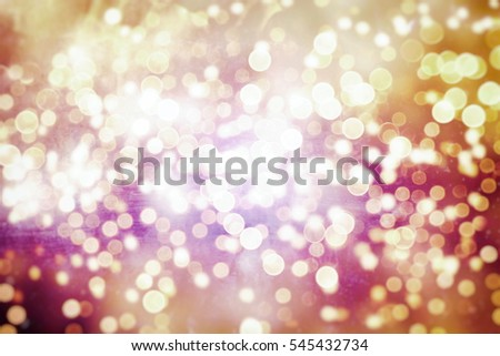 bokeh Glittering holiday textured Christmas background - Shutterstock ID 545432734