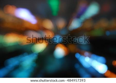 bokeh light dot sereen wallpaper mornitor mobile Stockfoto ©
