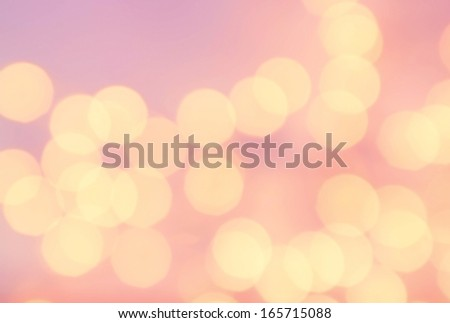 Bokeh light Vintage background. Bright pink color. Abstract natural blur defocussed background with sparkles and magic lights.