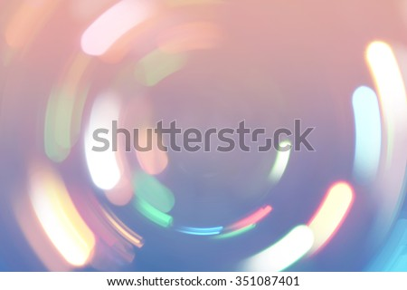 Bokeh lights background. Defocused light circles on blue and pink background. Photo can be used for web design, surface textures, wallpapers, printed products and other.