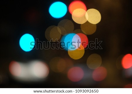 bokeh lights effect #1093092650