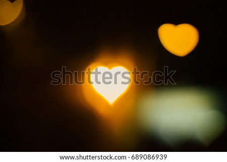 Bokeh lights, heart, love ,blackground -vintage style picture and vintage color #689086939