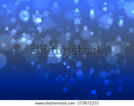 Bokeh on dark blue blurred background, Bokeh on blue blurred background, Bokeh on gray blurred background.