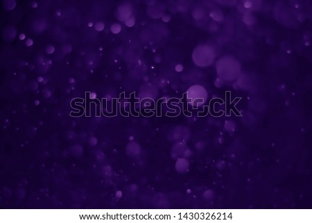 Bokeh purple proton background abstract