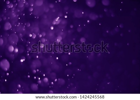 Bokeh purple proton background abstract - image