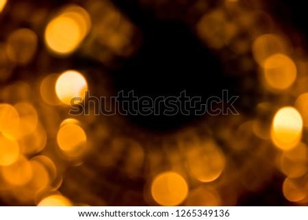 Bokeh time light, like the stars or street lighting. #1265349136