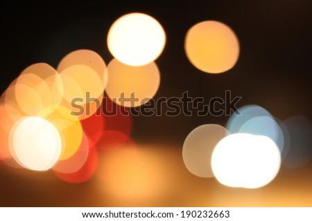 Bokeh wallpapers of night