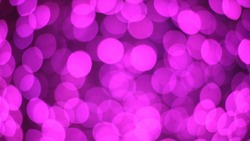 Bokeh with LED bulbs. Christmas decoration lights Beautiful abstract bokeh.