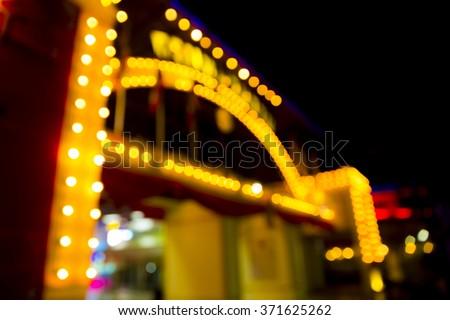 Boken theater marquee lights #371625262