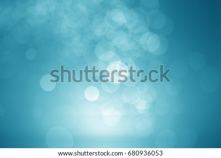 bokey abstract blue  background.