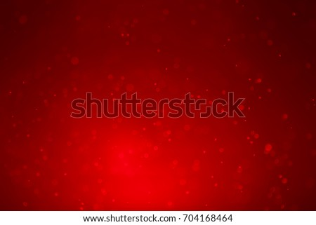 bokey abstract red background.