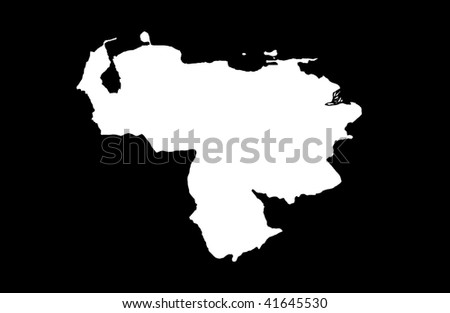 Bolivarian Republic of Venezuela - black background