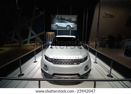 2008 Land Rover Lrx Geneva Concept. 2008: Land Rover LRX