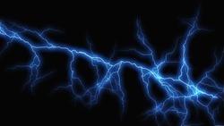 bolt lightning sparks electricity dramatic background