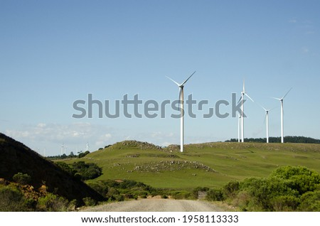 Bom Jardim da Serra wind farm. Santa Catarina, Brazil. Foto stock ©