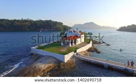 Bonfim's Church - Angra dos Reis - Rio de Janeiro - Brazil  Stock foto ©