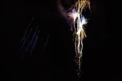 bonfire night fireworks display