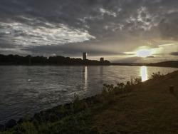 Bonn Germany HDR  Skyline sundown