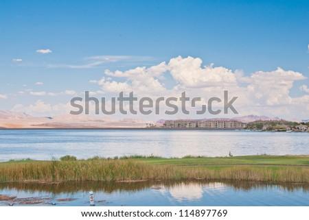 Bonneville Salt Flats mountains