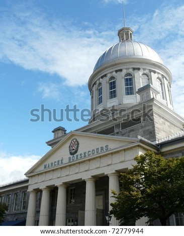 Bonsecours Market in Old Montreal (Vieux Montr�©al) in Quebec, Canada