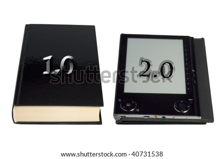 Book and ebook reader
