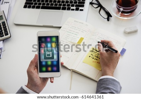 Book Application Online Vector Graphic - Shutterstock ID 614641361