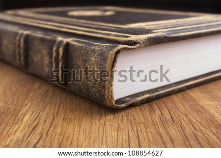 book close-up - stock photo
